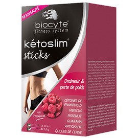 Kétoslim 14 sticks - divers - biocyte Biocyte Kétoslim est un nouveau brûleur de graisses pour aider à perdre du poids-141757
