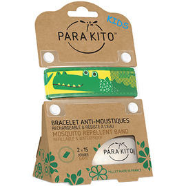 Kids bracelet anti-moustique crocodile - parakito -213926