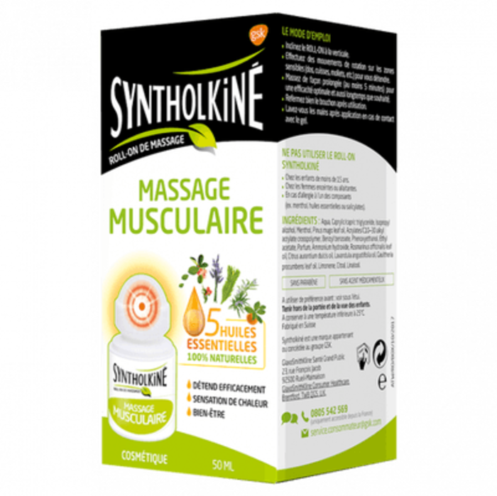 Kine roll-on de massage - 50ml Synthol-145501