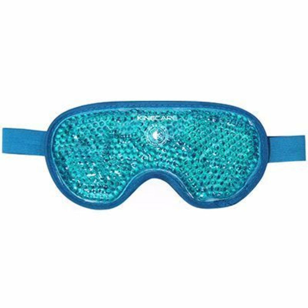 Kinecare coussin thermique masque oculaire 10x20cm turquoise - kinecare -216458