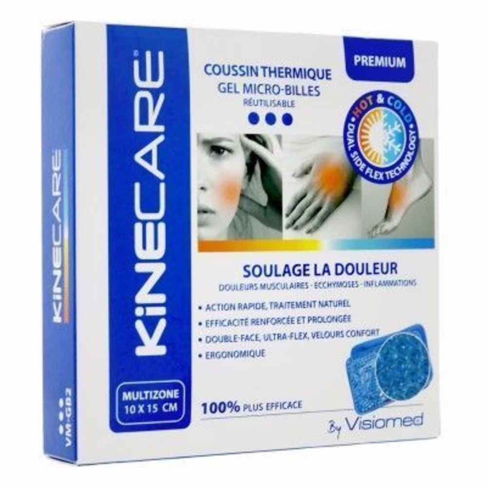 Kinecare coussin thermique multizone 10x15cm Kinecare-216460