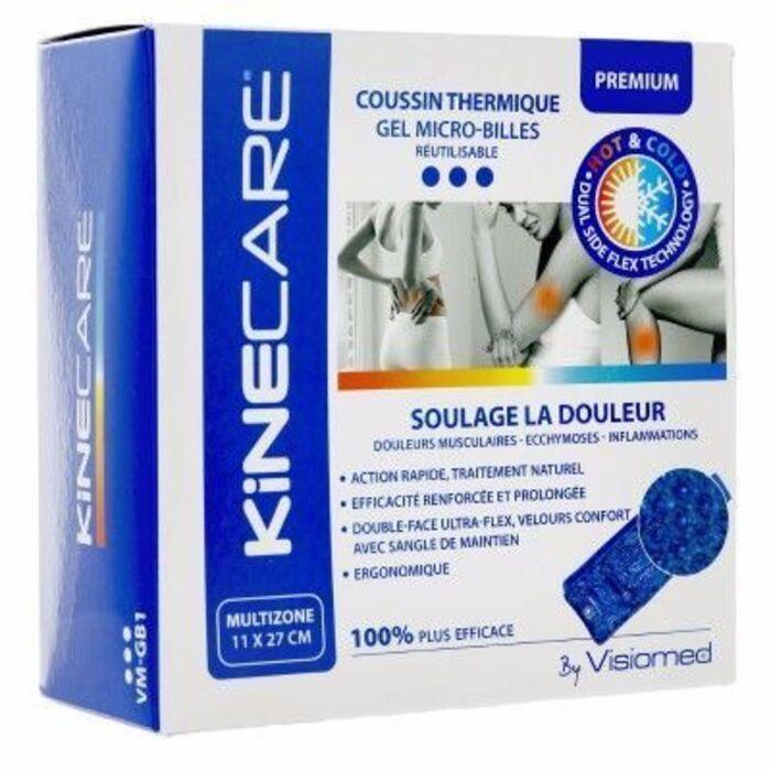 Kinecare coussin thermique multizone 11x27cm Kinecare-216461