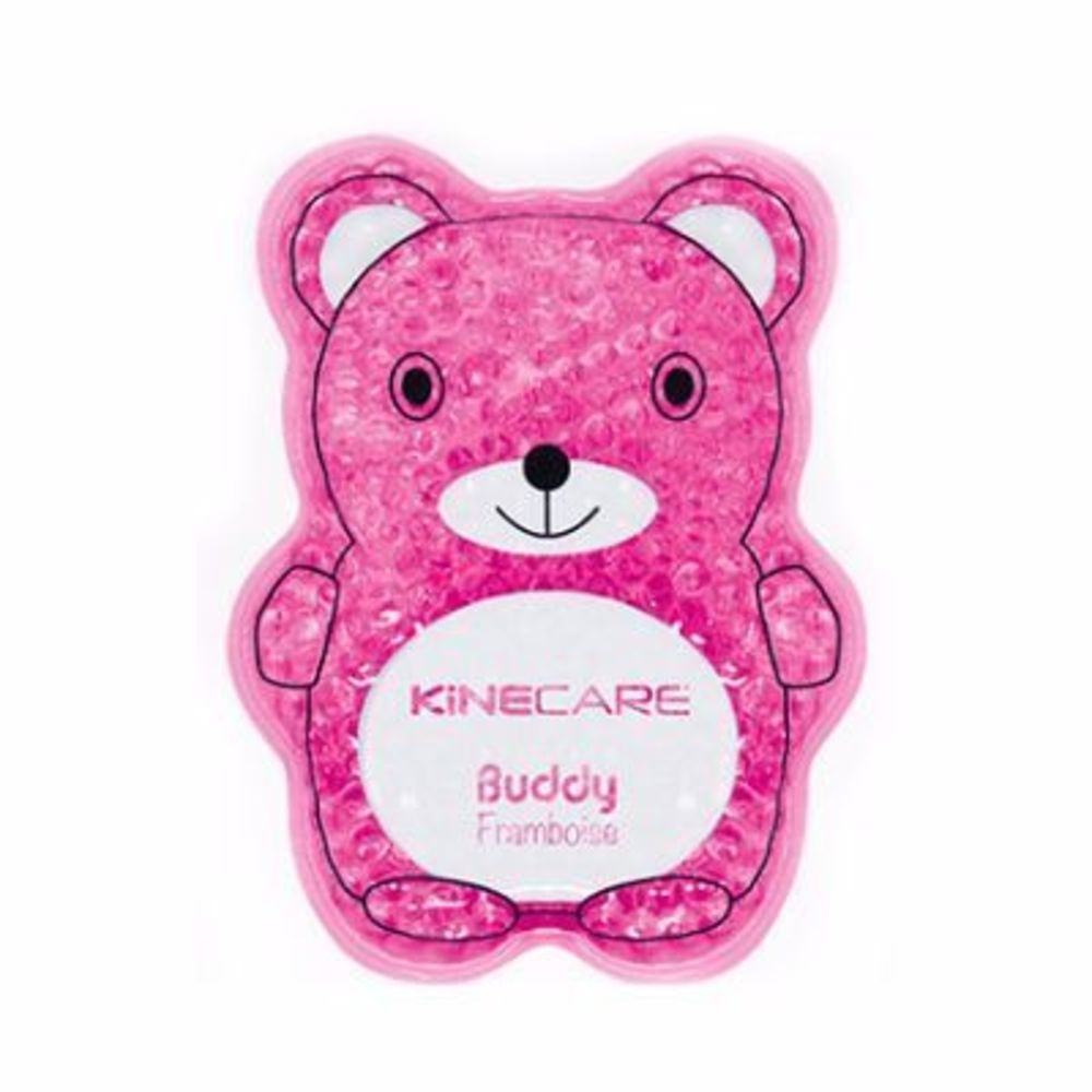 Kinecare coussin thermique multizone buddy 8x12,5cm framboise Kinecare-216466