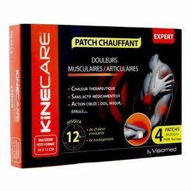 Kinecare patch chauffant multizone 10x13cm x4 - kinecare -216472