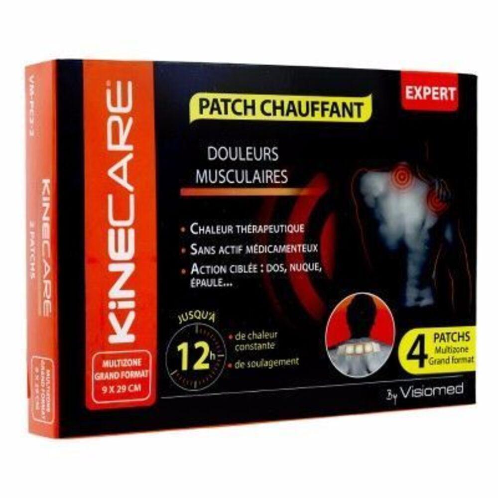 Kinecare patch chauffant multizone 9x29cm x4 - kinecare -216474