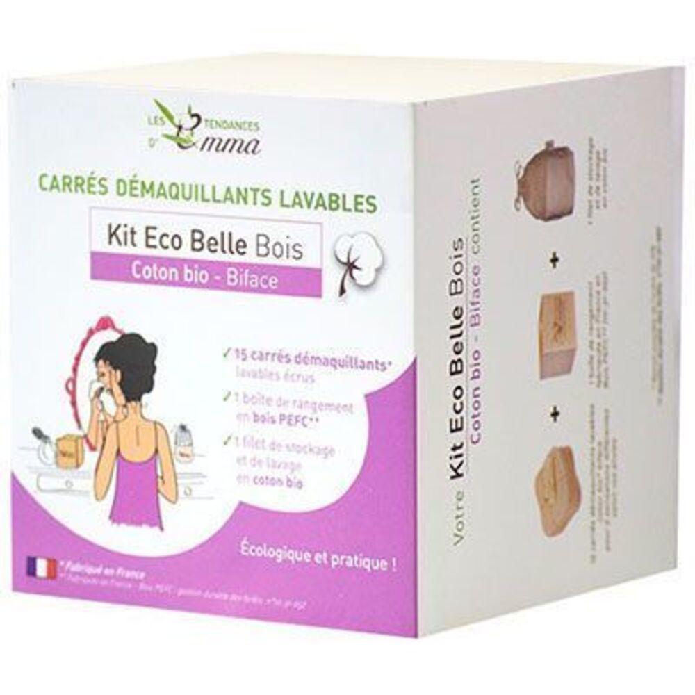 Kit eco belle bois coton bio biface - divers - les tendances d'emma -136753