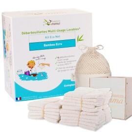 Kit eco net bambou écru - 1 boîte en bois  15... - divers - les tendances d'emma -136762