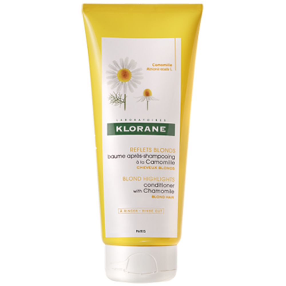 Klorane baume après-shampooing à la camomille 200ml - klorane -205077