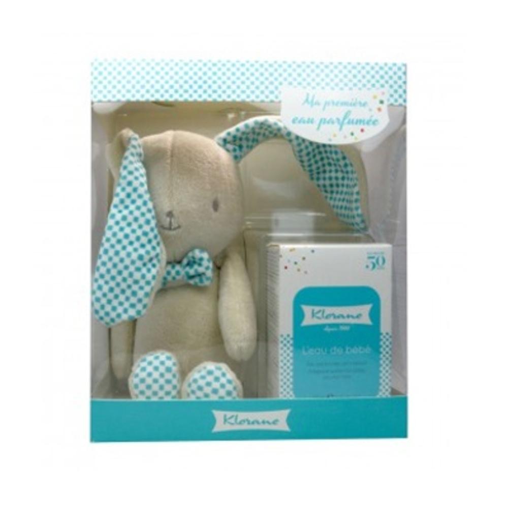 Klorane bébé coffret lapin bleu - divers - klorane -82235