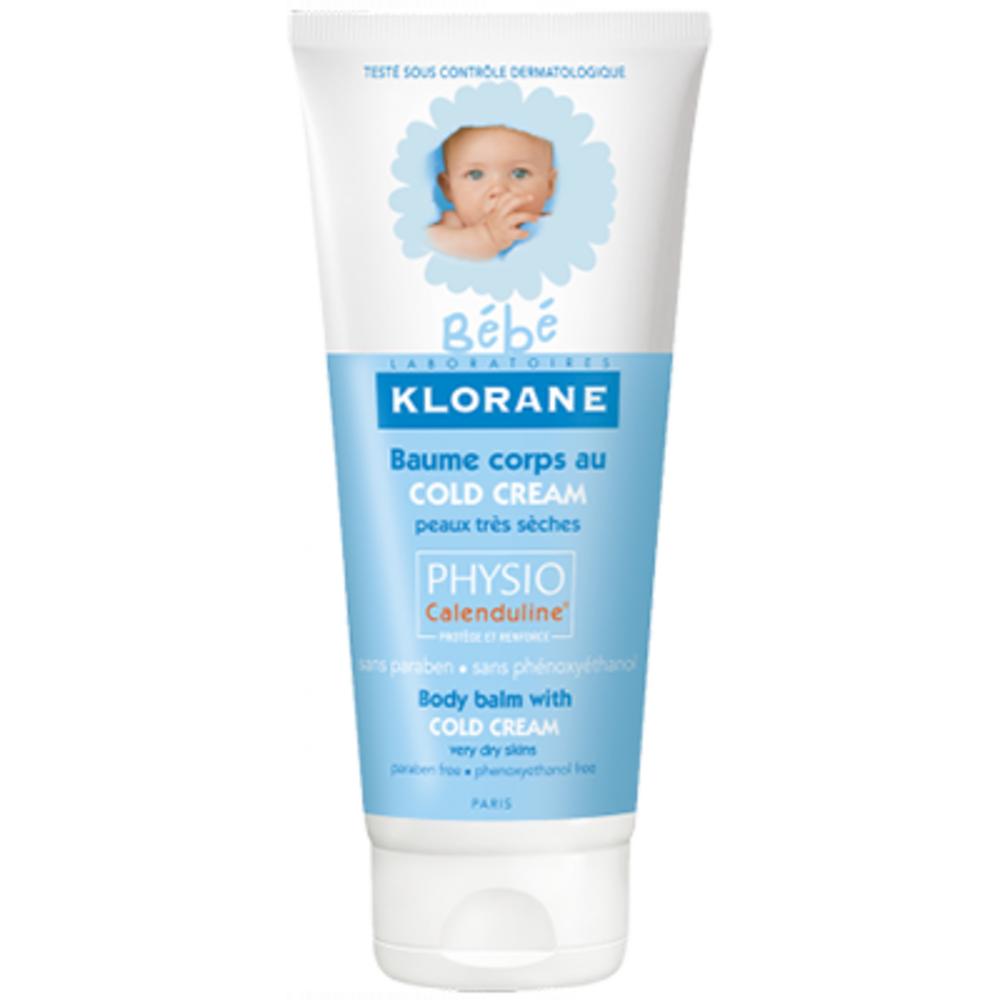 KLORANE Bébé Crème Lavante au Cold cream - 200 ml - Klorane -206001