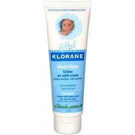 Klorane bébé crème nutritive cold cream 125ml - 125.0 ml - klorane -145070