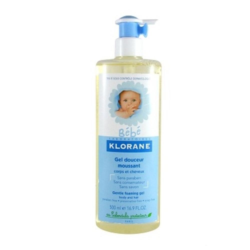 Klorane bébé gel moussant douceur - 500ml - 500.0 ml - klorane -145233