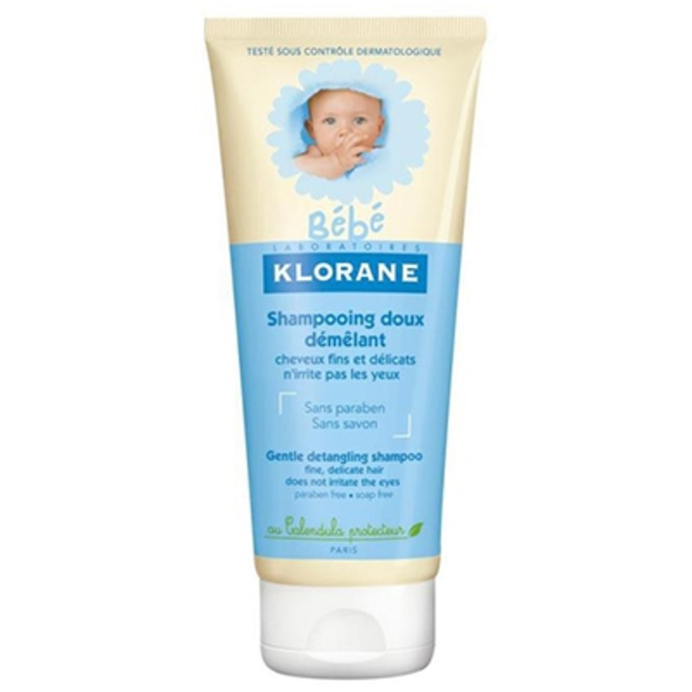 Klorane bébé shampooing doux démêlant - 200ml - klorane -144777