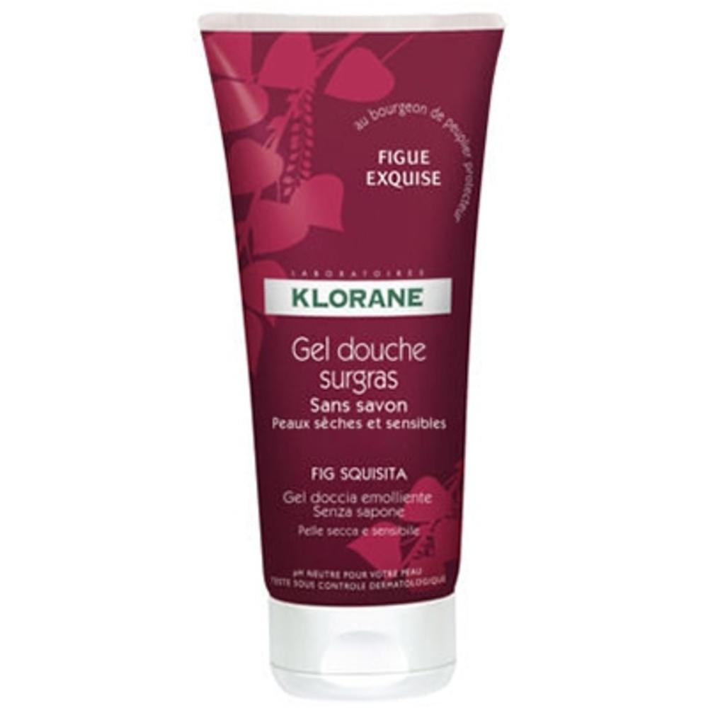 Klorane gel douche surgras figue exquise - klorane -190690