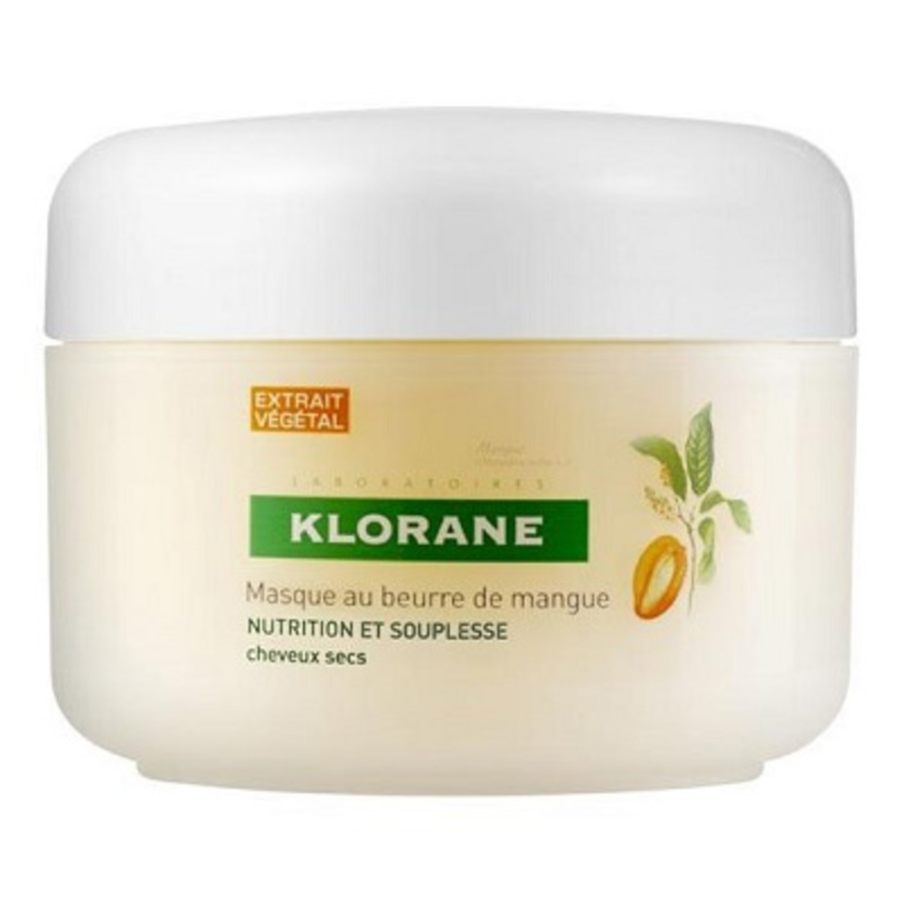 Klorane masque au beurre de mangue 150ml - divers - klorane -81666