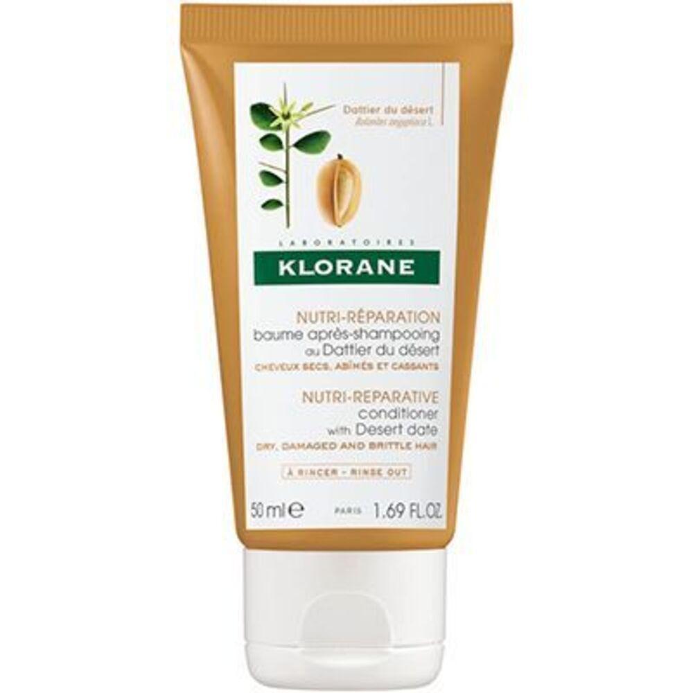 KLORANE Mini Baume Après-Shampooing au Dattier du Désert 50ml - Klorane -221868