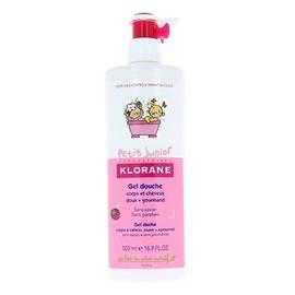 Klorane petit junior gel douche framboise - 500.0 ml - klorane -145114