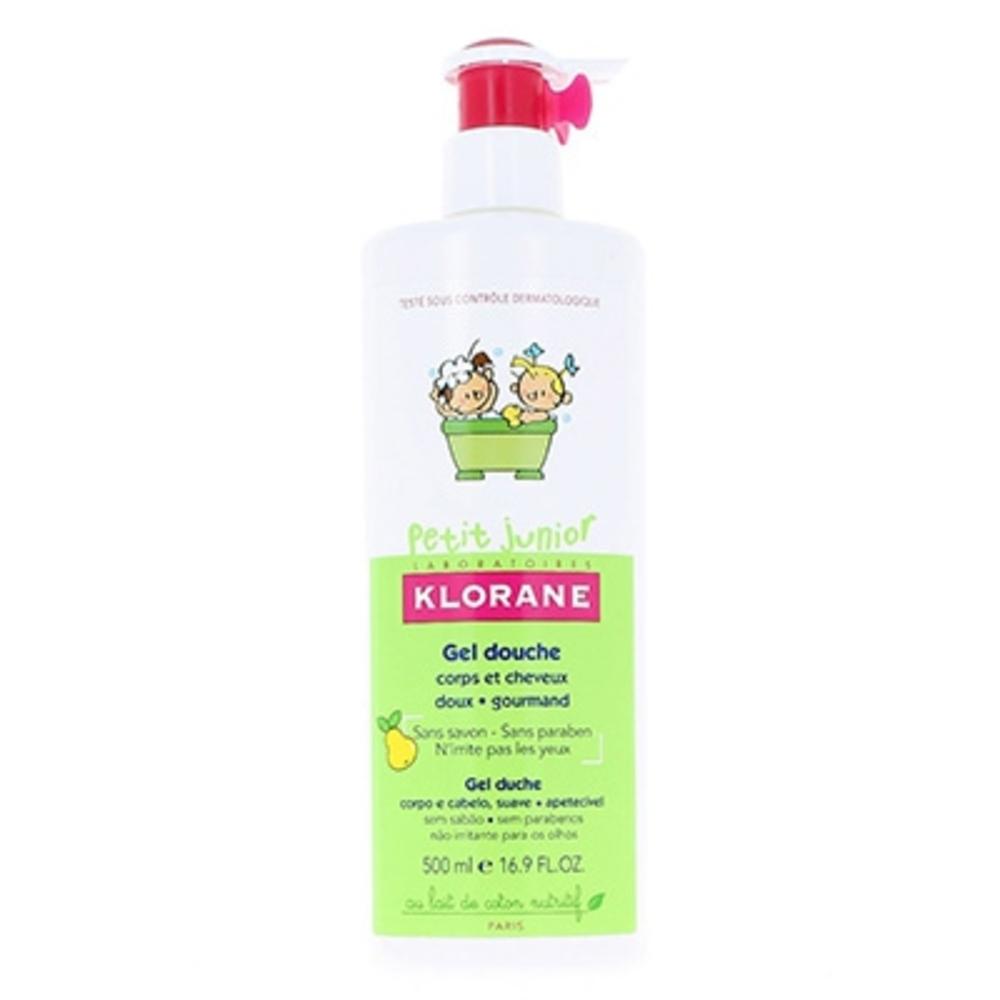 Klorane petit junior gel douche poire - 500.0 ml - klorane -145073