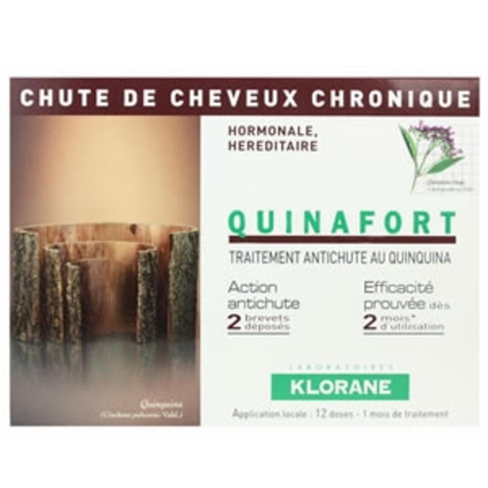 Klorane quinafort homme traitement antichute - divers - klorane -81869