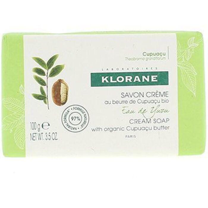 Klorane savon crème eau de yuzu 100g Klorane-220658