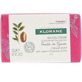 Klorane savon crème feuille de figuier 100g - klorane -220659