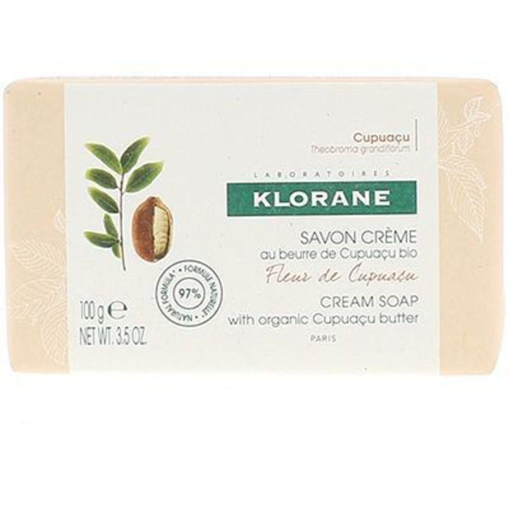 Klorane savon crème fleur de cupuaçu 100g Klorane-220660