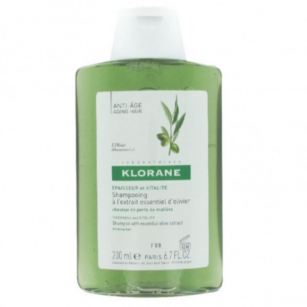 Klorane shampooing à l'olivier 200ml - klorane -203237
