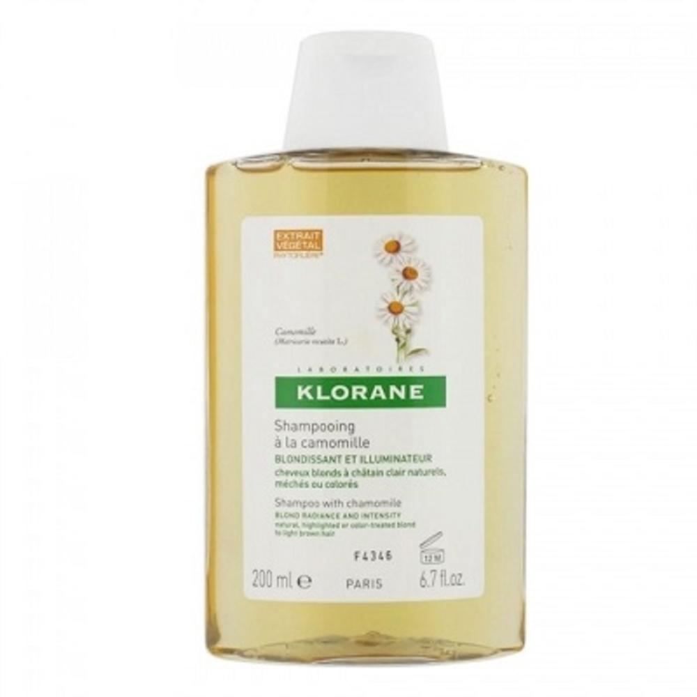 Klorane shampooing à la camomille 200ml - 200.0 ml - divers - klorane -81926
