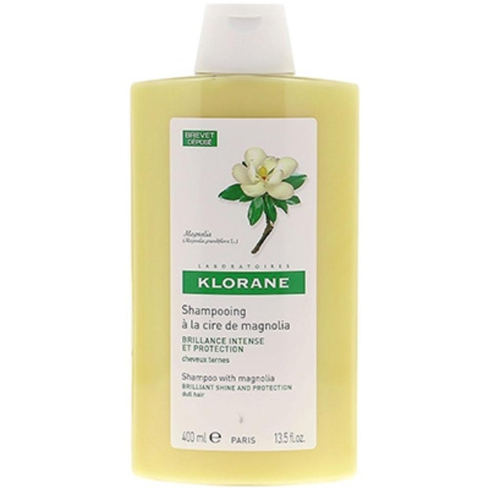 Klorane shampooing à la cire de magnolia 400ml - klorane -127978