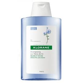 Klorane shampooing aux fibres de lin 200ml - 200.0 ml - klorane -143795