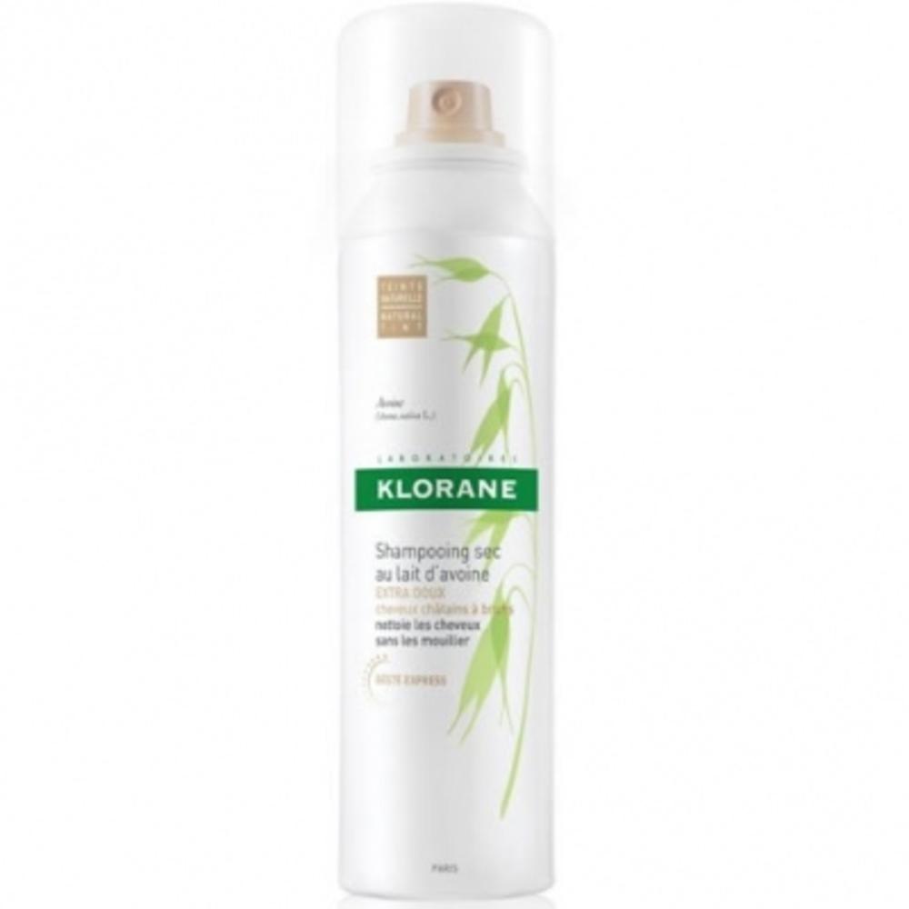 Klorane shampooing sec au lait d'avoine teinté 150ml - 150.0 ml - klorane -146584