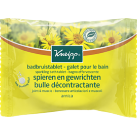 Kneipp galet pour le bain bulle décontractante arnica 80g - kneipp -226175