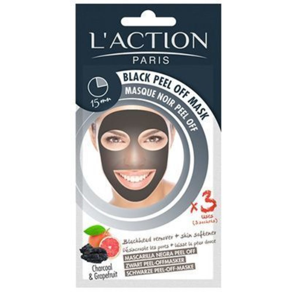 L'action paris masque noir peel-off - l action paris -219625