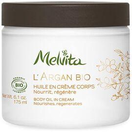 L'argan bio huile en crème corps bio 175ml - argan bio - melvita -213402