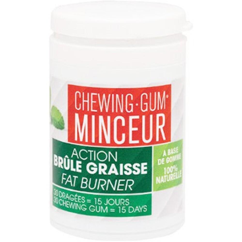 L'authentique chewing-gum minceur 30 dragées - l'authentique -214022