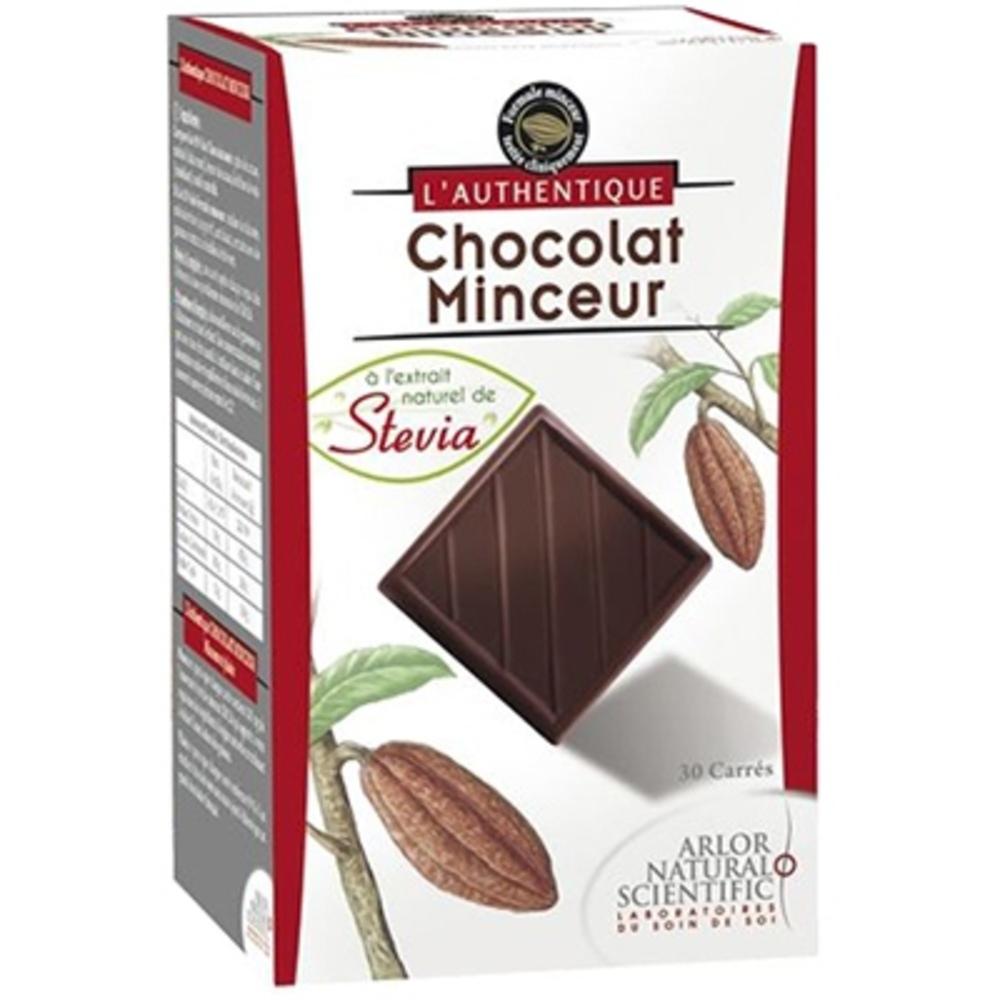 L'authentique chocolat minceur en carrés - l'authentique -198622