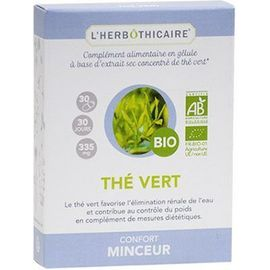 L'herbothicaire confort minceur thé vert bio 30 gélules - l herboticaire -226639