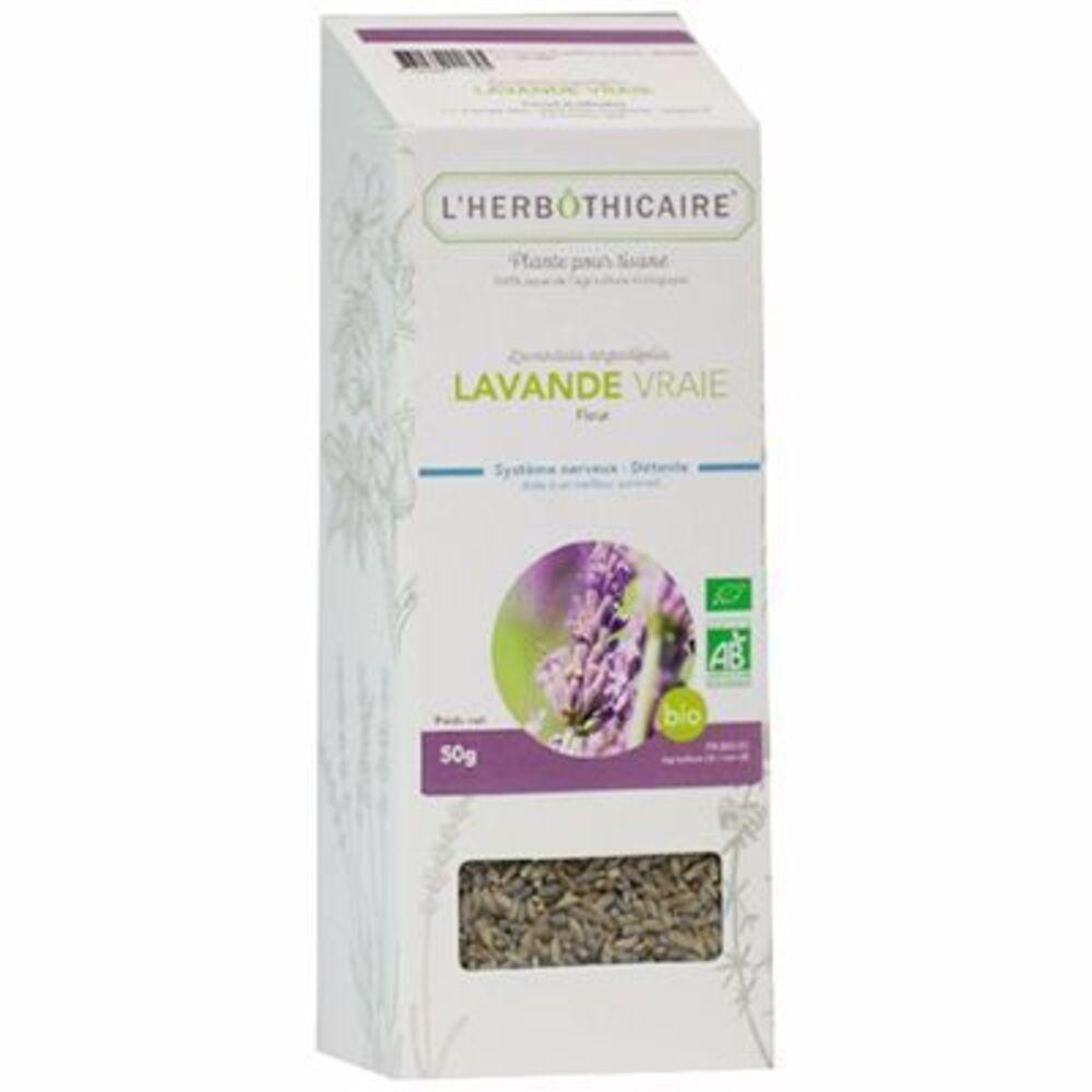 L'herbothicaire lavande vraie fleur bio 50g - l'herbothicaire -216825