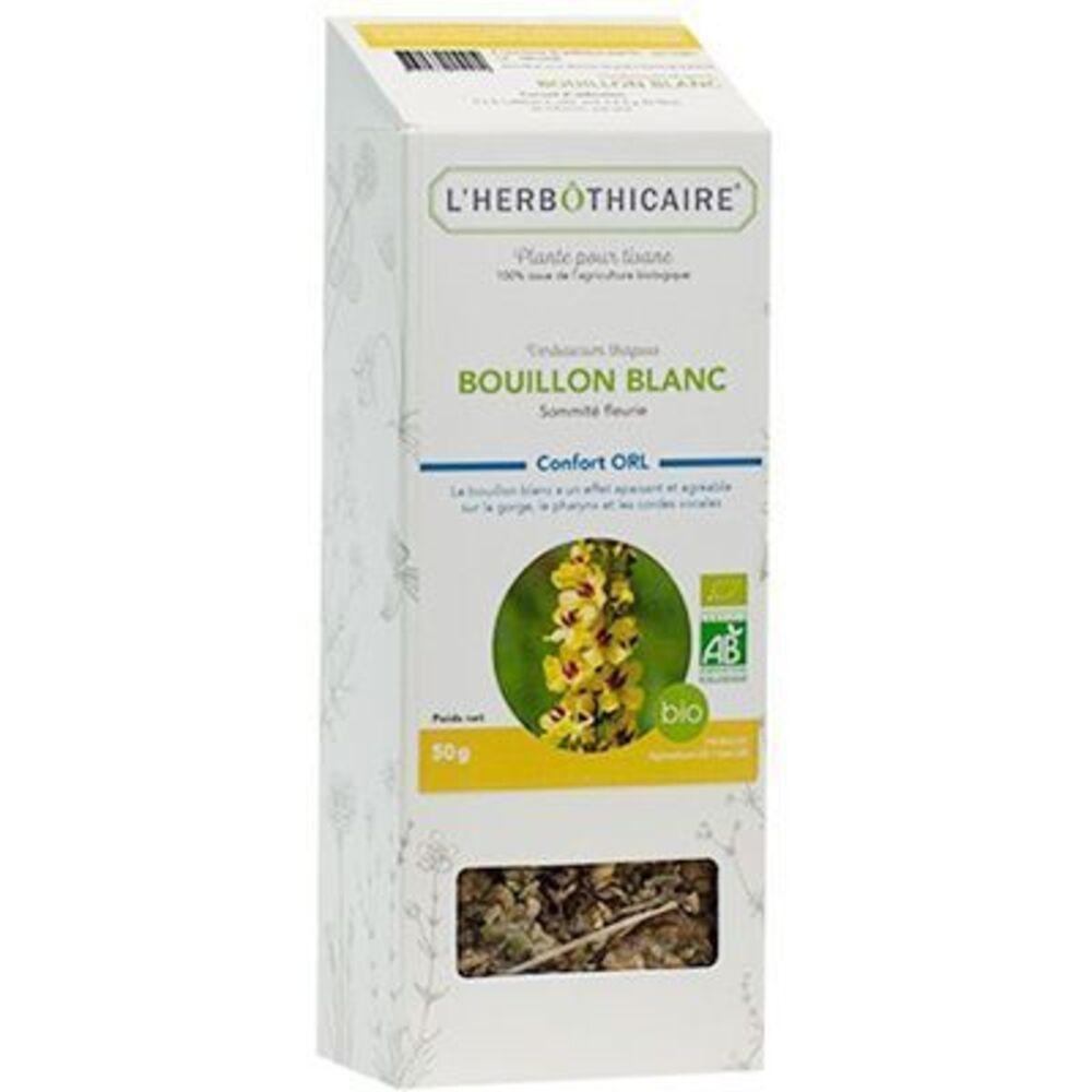 L'HERBOTHICAIRE Plante pour Tisane Bouillon Blanc Bio 50g - L'herbothicaire -220351