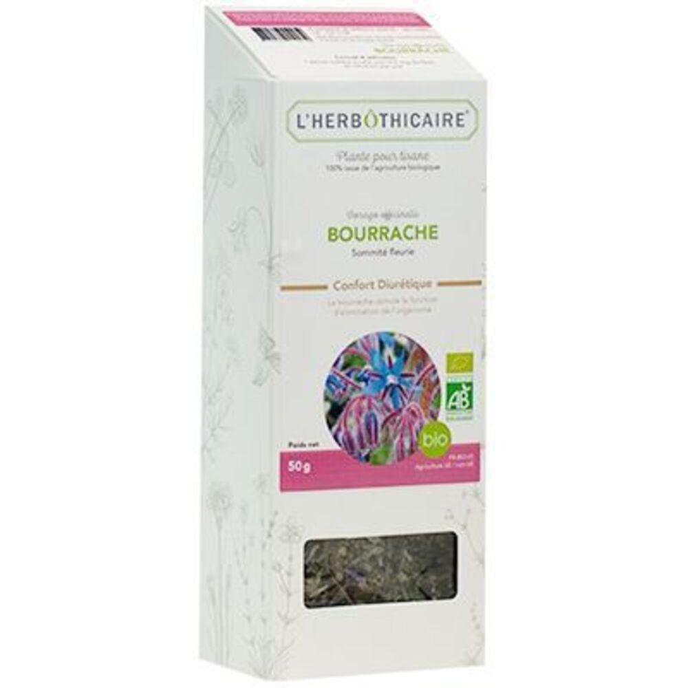 L'herbothicaire plante pour tisane bourrache bio 50g - l'herbothicaire -220353