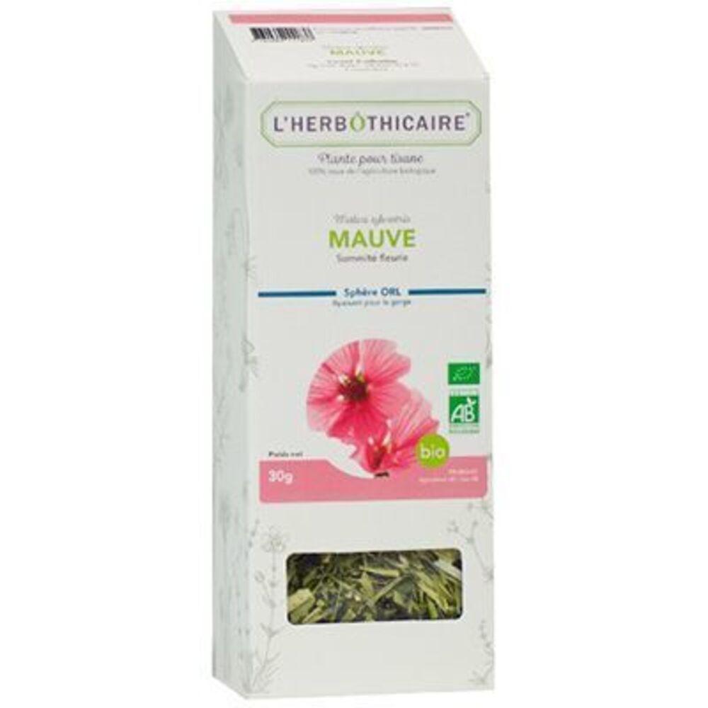 L'HERBOTHICAIRE Plante pour Tisane Mauve Bio 30g - L'herbothicaire -220378