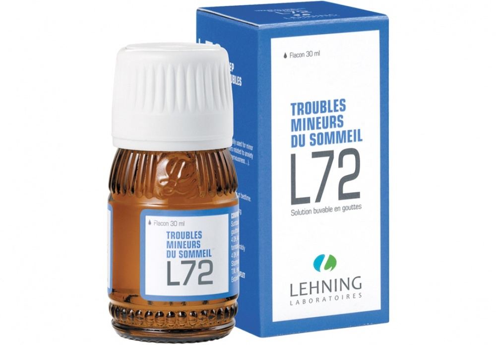 L72 solution buvable en gouttes - 30.0 ml - laboratoire lehning -194352