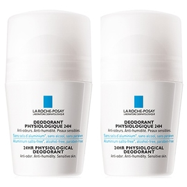 La roche posay déodorant physiologique 24h roll-on - lot de 2 - 50.0 ml - la roche-posay -121832