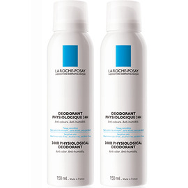 La roche posay déodorant physiologique 24h spray - lot de 2 - 50.0 ml - la roche-posay -121831