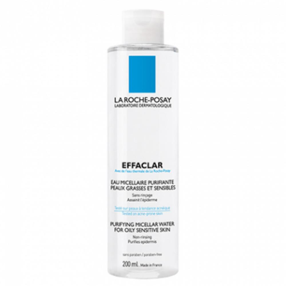 La roche posay effaclar eau micellaire - 200ml - 200.0 ml - la roche-posay Purifier et nettoyer la peau en profondeur-82473