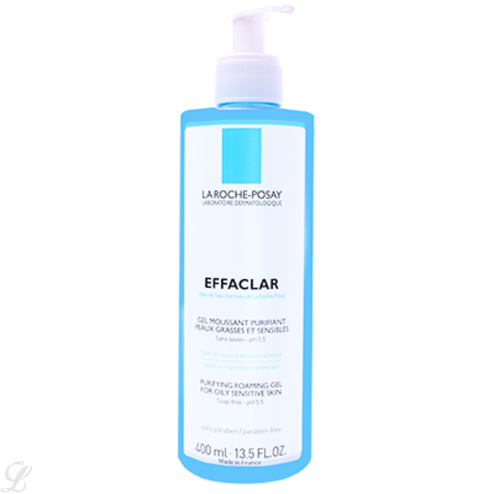 la roche posay effaclar gel moussant 400ml 400 0 ml. Black Bedroom Furniture Sets. Home Design Ideas