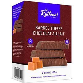 La rythmo barres toffee chocolat au lait 7 barres - ysonut -221737
