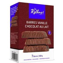 La rythmo barres vanille chocolat au lait 7 barres - ysonut -221733