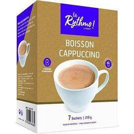 La rythmo boisson capuccino 7 sachets - ysonut -221729