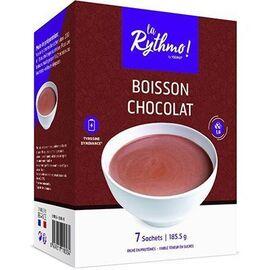 La rythmo boisson chocolat 7 sachets - ysonut -221719
